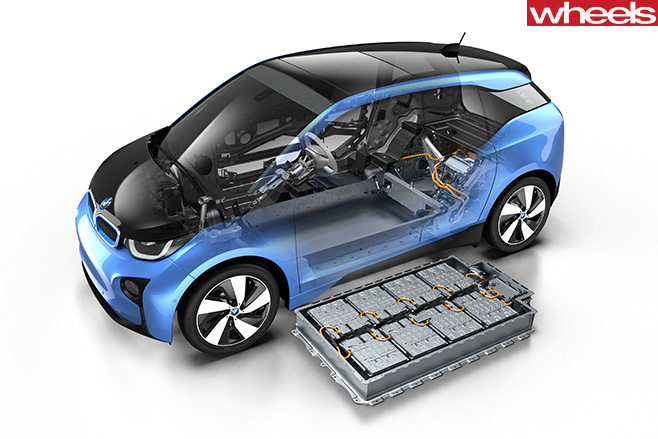 BMW-i 8-batteries