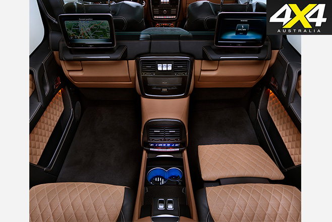 Mercedes Maybach G650 Landaulet interior