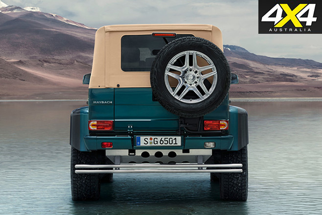 Mercedes Maybach G650 Landaulet rear