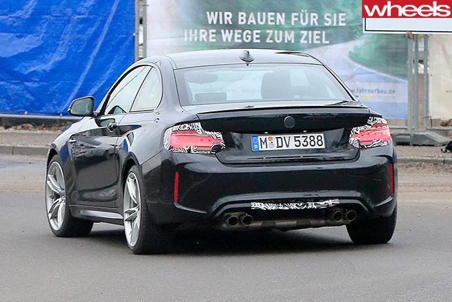 2017-BMW-M2-rear