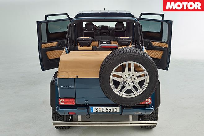 Mercedes-Maybach -G650 Landaulet rear