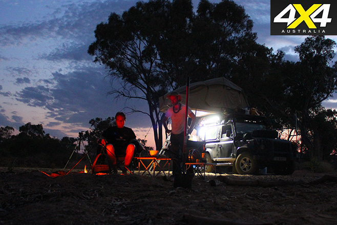 Flinders -and -Gammon -Ranges -at -night