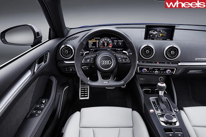 Audi -RS3-interior