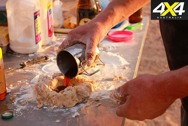 Making -dough