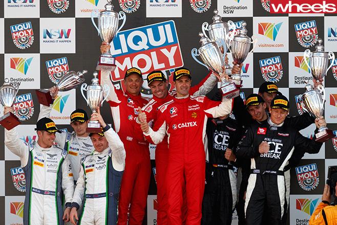 Liquimoly -bathurst -12-hour -competition -podium