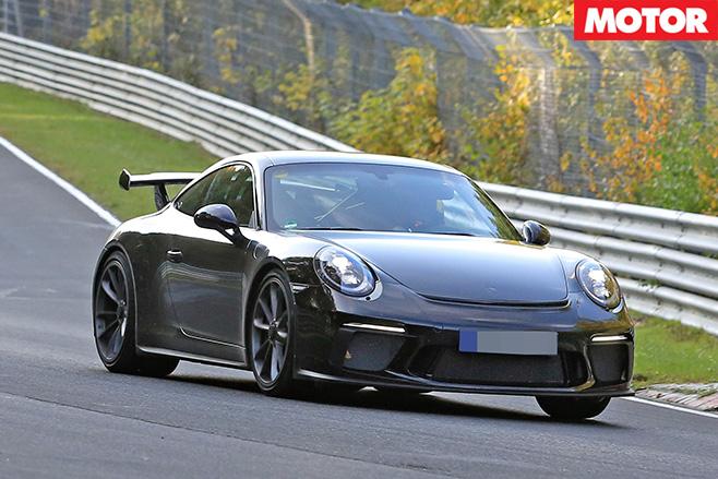 Porsche 991.2 911 GT3