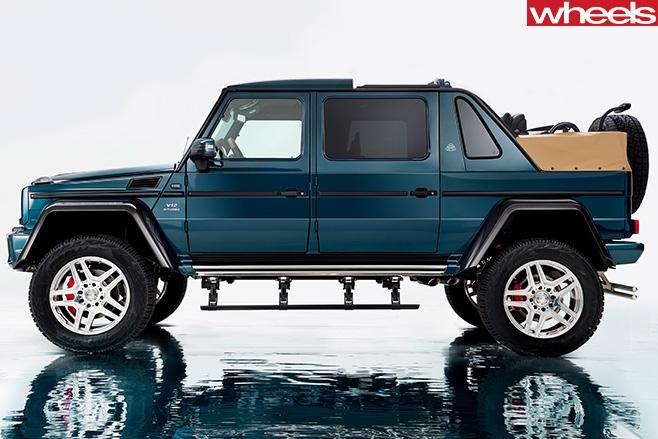 Mercedes -Maybach -G-650-Laundaulet -side