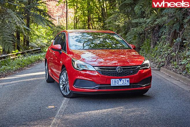 2017 Holden Astra hatch