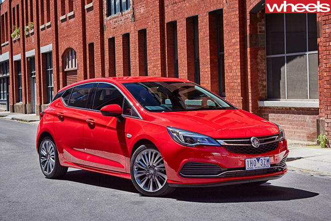2017 Holden Astra hatch side