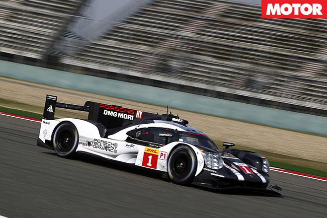 Racing Porsche endurance racer