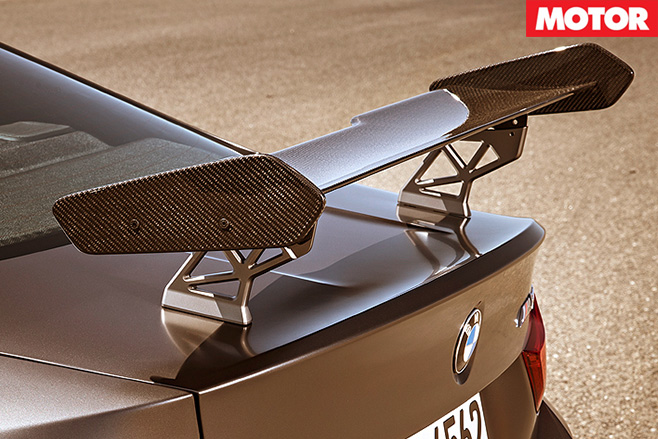 2017 BMW M4 GTS rear wing
