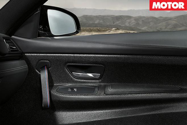 2017 BMW M4 GTS doors