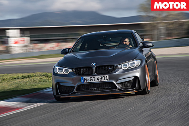 2017 BMW M4 GTS driving