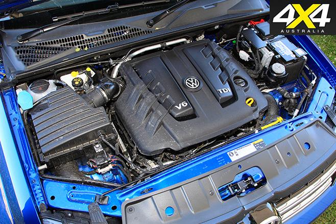 VW Amarok V6 engine