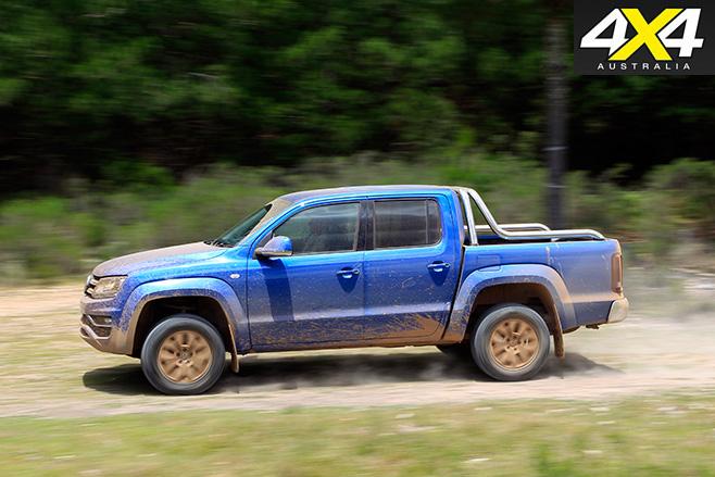 VW Amarok V6 side