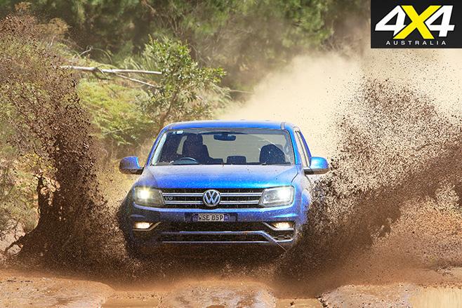 VW Amarok muddy
