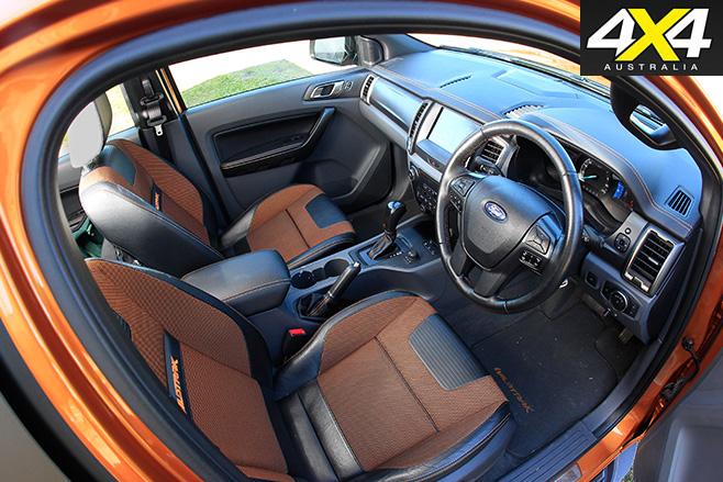 Ford Ranger interior 2