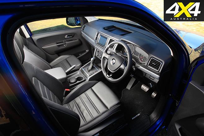 VW Amarok interior 2