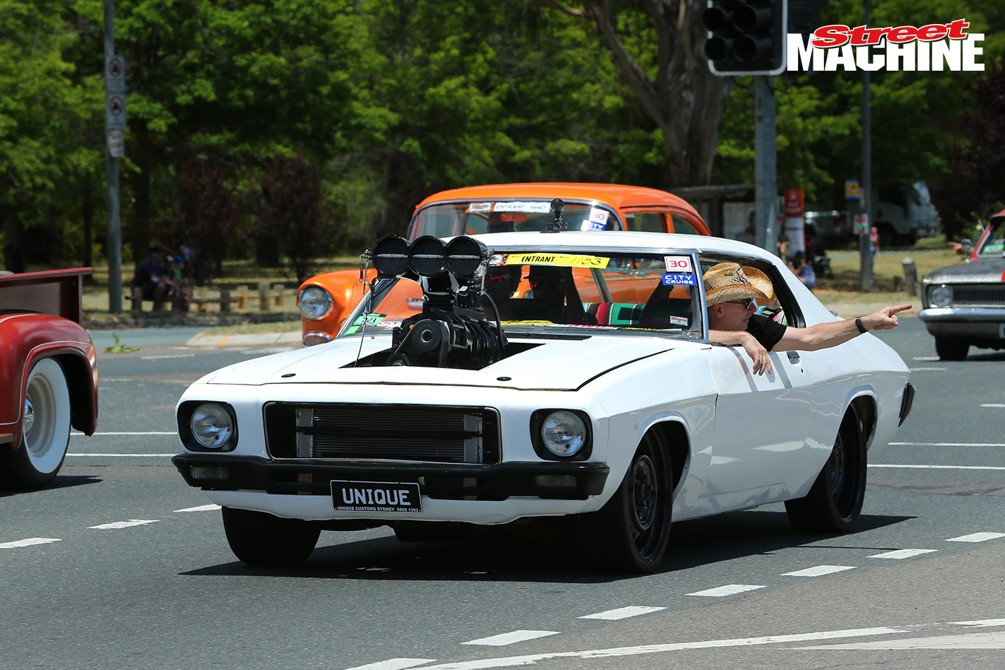 HQ Monaro Blown