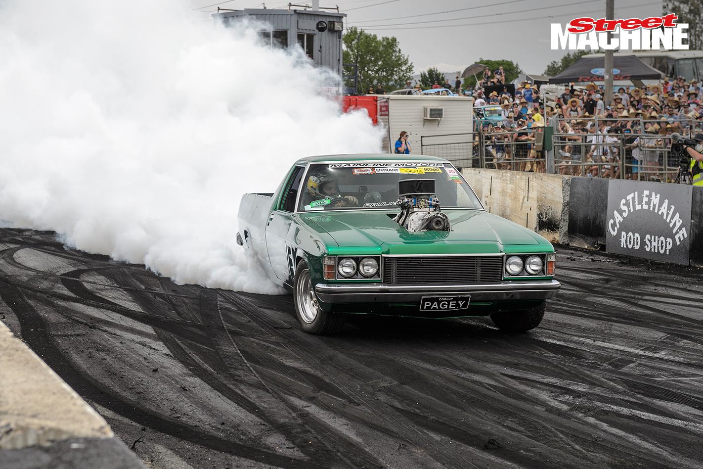 HZ Holden Ute Burnout PAGEY