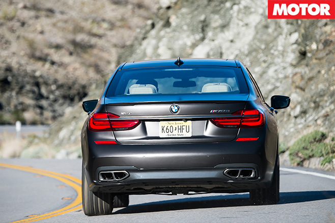2017 BMW M760iL xDrive rear
