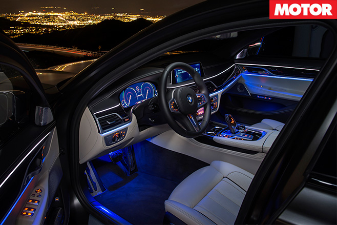 2017 BMW M760iL xDrive interior