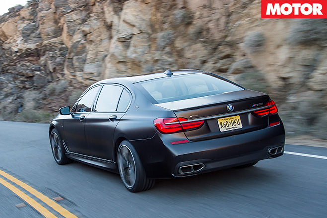 2017-BMW-M760i L-x Drive -rear -driving