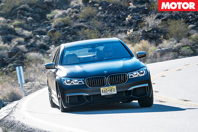 2017 BMW M760iL xDrive driving