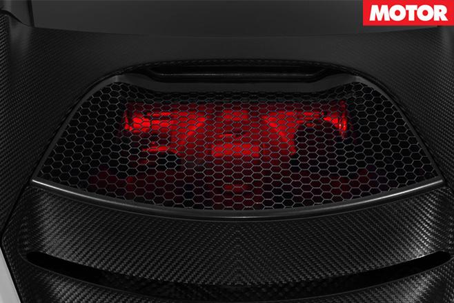 Teased McLaren 720S air vent