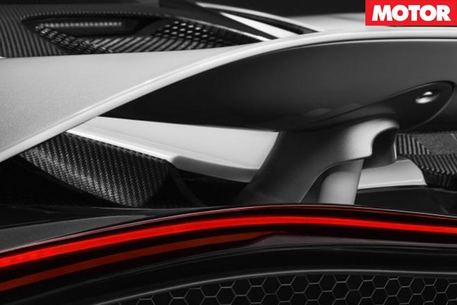 McLaren 720S spoiler rear