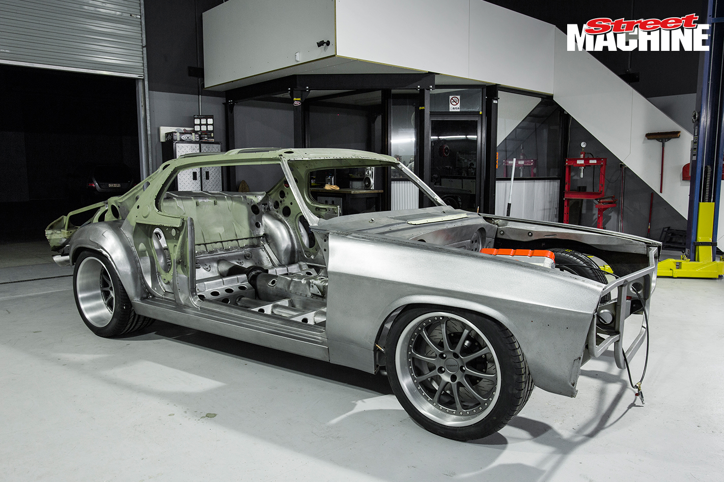 HQ Monaro Wide Body Build 3