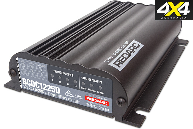 Redarc battery charger