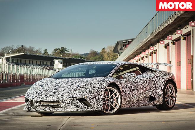 Lamborghini -Huracan -Performante -front