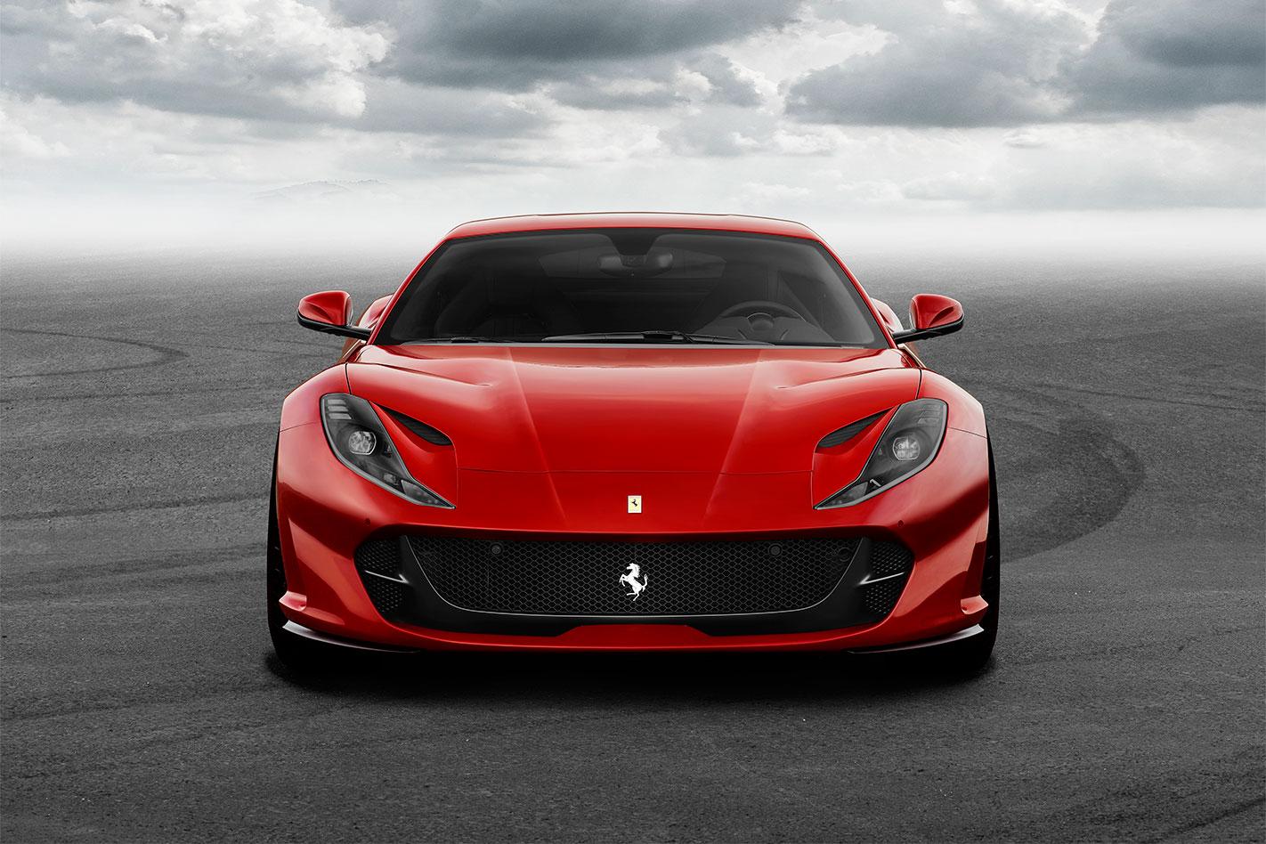 2017 Ferrari 812 Superfast nose