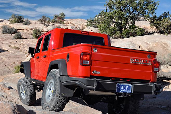 AEV-JK-Brute -pick -up -rear