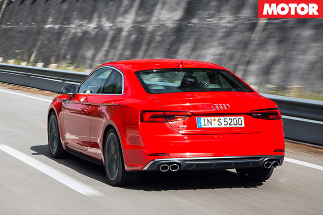 2017 Audi S5 rear