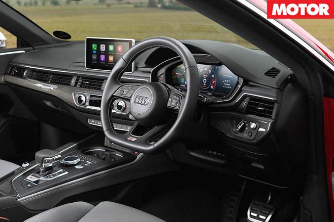 2017 Audi S5 interior