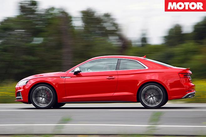 2017 Audi S5 side