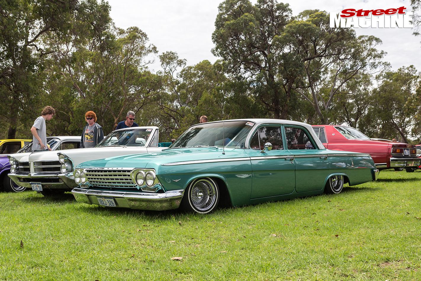 1962 Chevrolet bel air THE-FINAL-BIG-ALS-POKER-RUN-Caption -14-4907