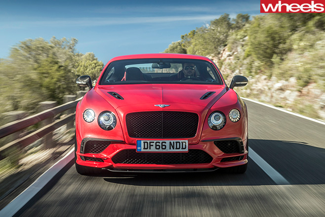 2017-Bentley -Continental -Supersports -front