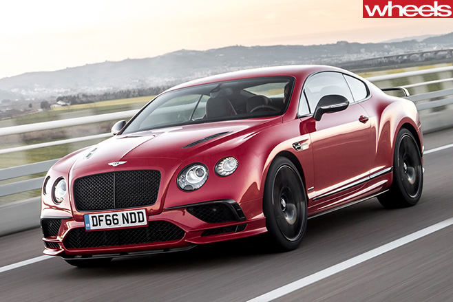 2017-Bentley -Continental -Supersports -side