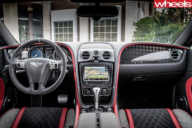 2017-Bentley -Continental -Supersports -interior