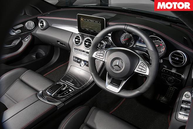2017 Mercedes-AMG C43 interior