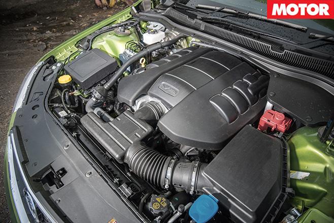 6.2-litre V8 engine