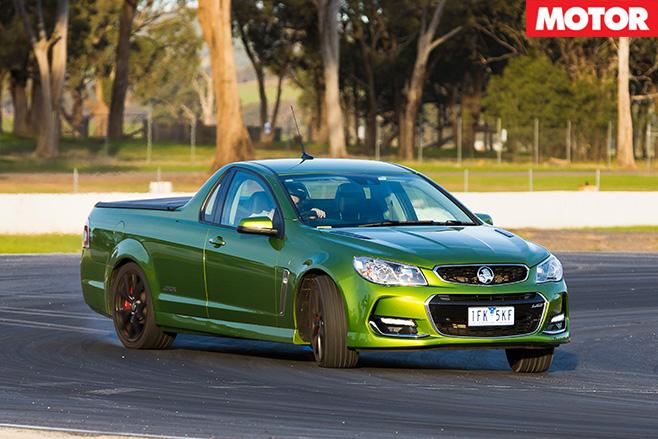 Holden SS-V Redline front