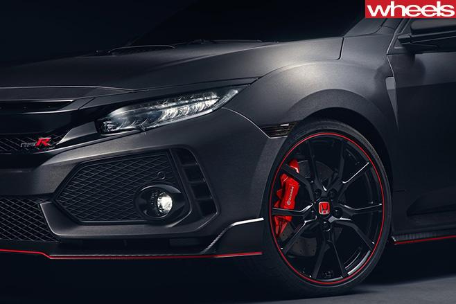 2017-Honda -Civic -Type -R-Geneva -Motor -Show -grille