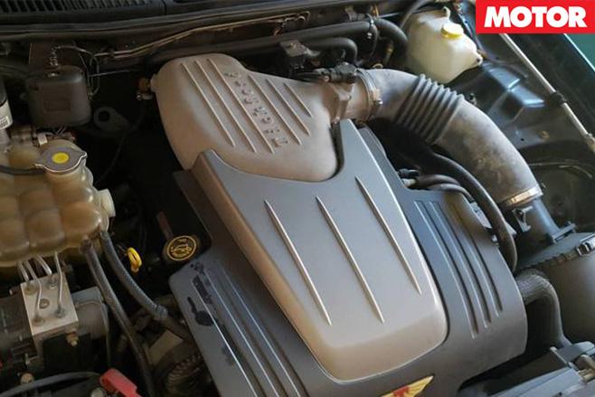 Tickford TE50 T3 engine