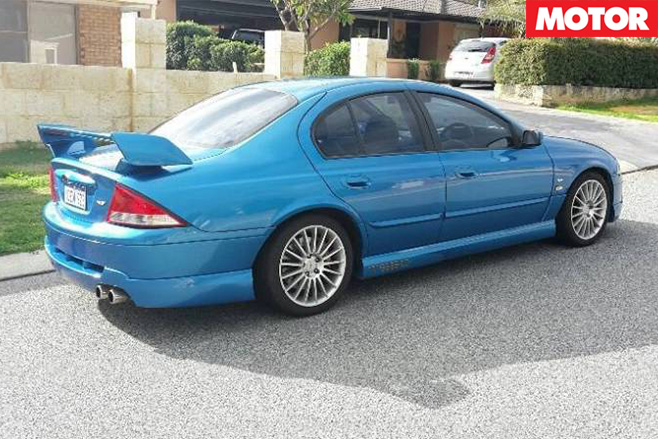 Tickford TE50 T3 rear