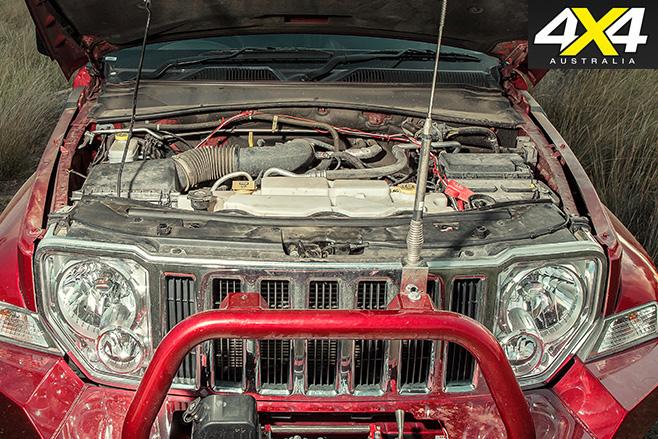 Custom Jeep Cherokee Limited engine