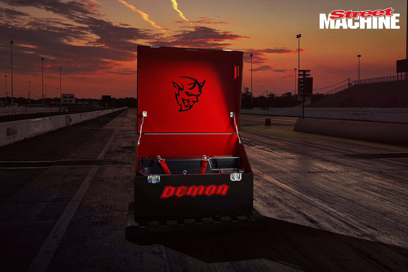 Dodge Demon Tool Box